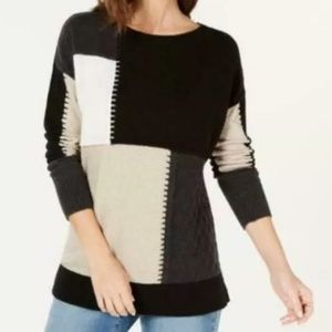 Style Co block sweater read details